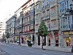 La calle de Uría es la principal arteria comercial de Oviedo, Asturias. La calle toma el nombre del político José Francisco Uría y Riego.