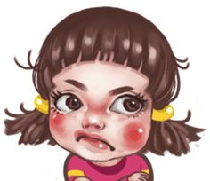 Hi, young girl juno here to help you express so many emotions on social media. Angry Cartoon, Girl Cartoon, Cartoon Art, Funny Angry Face, Funny Faces, Mood Wallpaper, Tumblr Wallpaper, Funny Face Drawings, Funny Dialogues