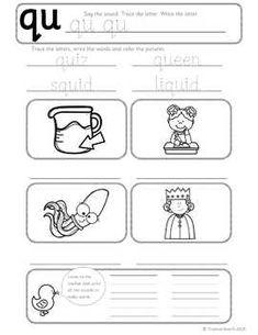 Thumbnail image of Beginning Sound Qu Worksheet