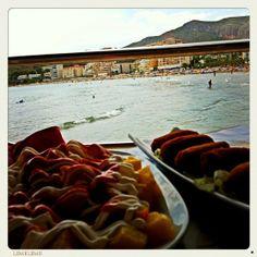 Restaurante Puerta del Sol in Oropesa Del Mar! Amazing food!