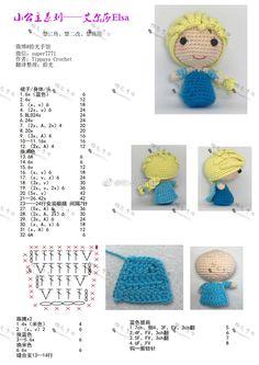 微博 doll Easter Crochet Patterns, Crochet Bunny Pattern, Doily Patterns, Knit Or Crochet, Crochet Patterns Amigurumi, Cute Crochet, Crochet Dolls, Crochet Fairy, Crochet Flowers