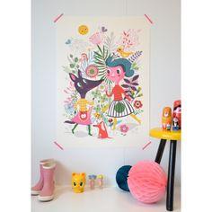 Helen Dardik heeft #poster Sweet speciaal voor PSikhouvanjou ontworpen