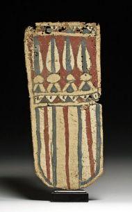 Egyptian Late Dynastic Cartonnage Panel