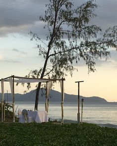 How about private dinner on the beach ?