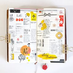 Last week in the Weekly Vertical insert for my Midori Traveler's notebook. I use it to keep track of my daily to-dos and appointments. As…