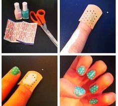 One Dot Nail Art Tutorial - USA Fashion Trends