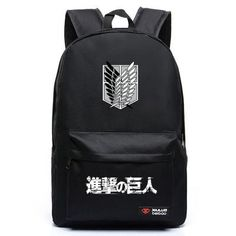 Attack On Titan Anime Backpack 5 Colors - OtakuForest.com