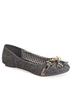 Plus Size Pippa Tassel Flat   Plus Size Shoes & Bags   Avenue