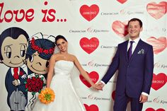 свадьба в стиле love is - Поиск в Google