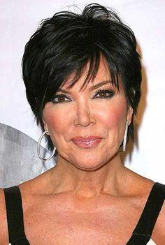 Kris Jenner Hairstyles for Older