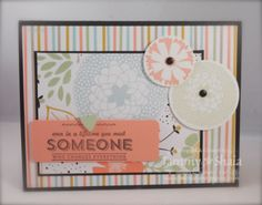 Petal Parade and See Ya Later Stamp Sets, Sweet Sorbet Designer Paper...2014 Sale-A-Bration Products