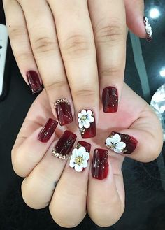 Vẽ nổi 3d Nails, Swag Nails, Cute Nails, Elegant Nails, Stylish Nails, Acrylic Nail Designs, Nail Art Designs, Diamond Nail Art, Exotic Nails