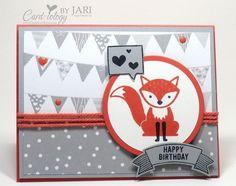 Stampin' Up! Foxy Friends Birthday