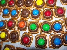 Chocolate Peanut Butter Pretzel Snaps