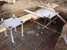 Resultado de imagen para foundation for steel column