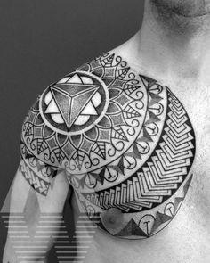 Manuel Winkler Black-  Dotwork Tattoos Merano Italy