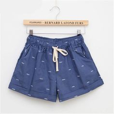 2016 Fashion The New Women leisure shorts in summer / woman's elastic waist…