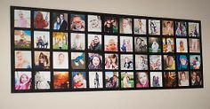 Dorm Room Picture Collages