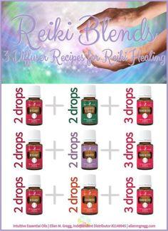 Reiki Blends: 3 Essential Oil Diffuser Recipes for Reiki Healing