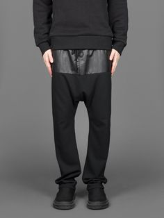 $246 D. GNAK D by D Fabric Blocking Jersey Pants