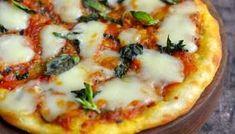 Millet Crust Pizza | Healthy Gluten Free Veggie Pizza | Cooking From Heart Crust Pizza, Pizza Dough, Flat Pan, Regular Pizza, Veggie Pizza, Gluten Free Pizza, Just Cooking, How To Cook Chicken