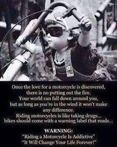 It's the good kind of addiction!  #bikerlife #rideon