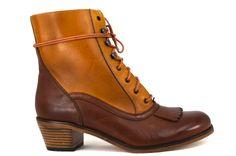 Wolverine 1000 Mile Nesbit Kiltie Riding Boot - Tan | Shoe Biz - San Francisco
