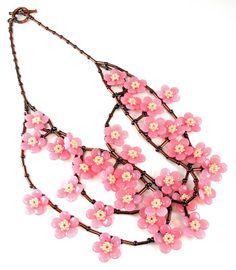 Bead Origami: New Pattern: Sakura Charm