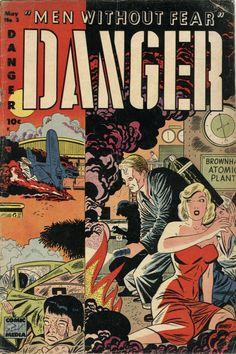 Danger #3, May 1953, Pencils: Pete Morisi