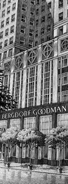 Bergdorf Goodman - NYC. There is nothing like Bergdorf's. It is one of the very few civilized places left for ladies to shop & lunch!