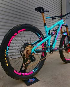What do you think of @jaykerrphi stunning Santa Cruz Nomad? . Follow me : @downhill.vtt . Credit : @jaykerrphi . Partner ! @hundb_enduro_team . Mention 2 friends ! . Turin ON post notifications ! Freeride Mtb, Mt Bike, Road Bike, All Mountain Bike, Montain Bike, Downhill Bike, Bicycle Painting, Bike Photography, Bike Art