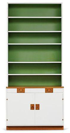 A Josef Frank bookcase cabinet, Firma Svenskt Tenn. . - Spring Modern Sale 555 – Bukowskis