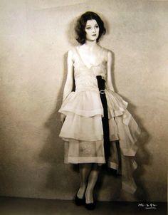 Beautiful vintage image!  Myrna Loy - 1920's Women's vintage fashion photography clothing photo