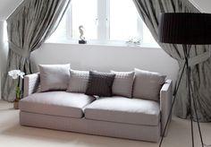 Asana 3 Seat Dark Grey Fabric Sofa (Sofa) | image 2