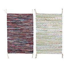 IKEA - TÅNUM, Teppich flach gewebt, , Handgewebt von talentierten Kunsthandwerkern; jedes Produkt ist einmalig.