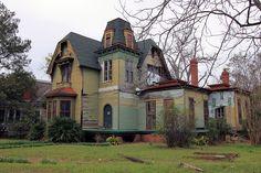 Abandoned Victorian in Eufaula, Alabama.