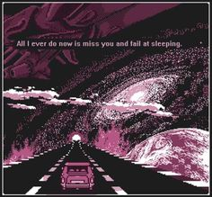 vaporwave space search amidstchaos for more pins like this The Skulls, Vaporwave, Quote Aesthetic, Aesthetic Pictures, Pixel Art, 8bit Art, Night Vale, Sad Art, 8 Bit