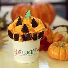 We're just a little excited for Halloween this weekend.. can you tell?? Who else is ready for Halloween? #yowaffle #halloween