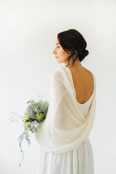 Wedding Cape, Wedding Shawl, Wedding Cardigan, Knit Shrug, Knit Lace, Knit Dress, Lace Dress, Bridal Bolero, Mohair Sweater