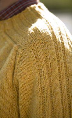 Unicorn Pattern: Saddle Shoulder Pullover - Complimentary Knitting Pattern