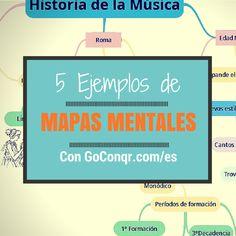 Inspírate: 5 Ejemplos de Mapas Mentales Extraordinarios creados con GoConqr