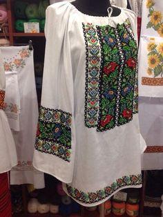 Борщевская вышиванка бисером