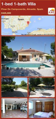1-bed 1-bath Villa in Pinar De Campoverde, Alicante, Spain ►€425,000 #PropertyForSaleInSpain