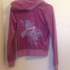 Purple juicy couture sweater size small 💜 Purple juicy couture sweater size small 💜 Juicy Couture Jackets & Coats
