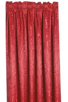 Taped Lined Curtain