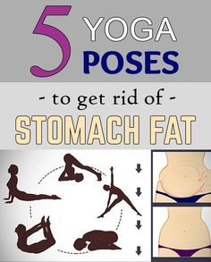 5 yoga poses to get rid of stomach fat