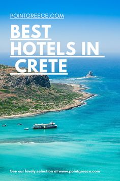 Best Hotels in Crete Hotels In Crete Greece, Best Hotels In Greece, Greece Resorts, Best Resorts, Vacation Resorts, Best Vacations, Hotels And Resorts, Honeymoon Hotels, Best Honeymoon