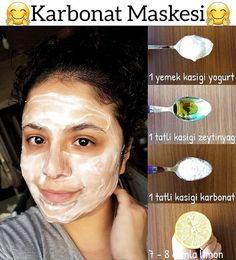 Brightness and luminance that regulates skin tint .- 📍Cilt renk tonunu düzenleyen parlaklik ve aydinlik gorunum saglayan Karbonat… Karbon Carbonate Mask which provides brightness and light appearance to regulate skin color tone 💞 - Anti Aging Facial, Face Facial, Face Skin, Facial Scrubs, Facial Masks, Diy Dry Shampoo, Beauty Care, Beauty Skin, Coconut Oil Uses For Skin