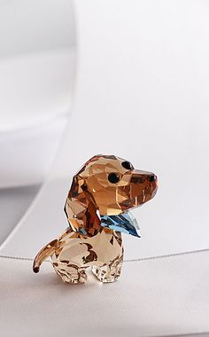 Swarovski Puppy Milo The Dachshund