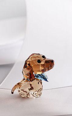 Swarovski Puppy Milo The Dachshund
